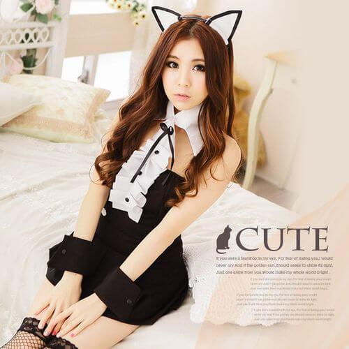 貓咪情趣女僕裝