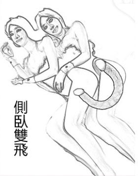 情趣雙頭龍雙人玩法2